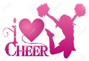 31540071-I-Love-Cheer-With-Jumping-Cheerleader-is-an-illustration-of-a-cheer-design-for-cheerleaders-Express--Stock-Vector